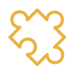 Icon of a jigsaw puzzle piece