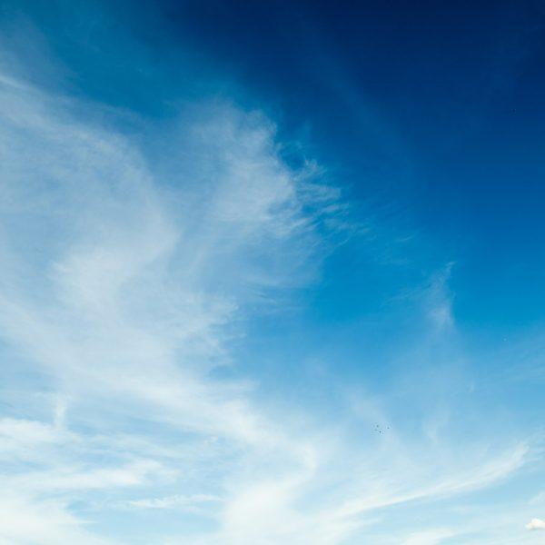 Light blue sky and cloud